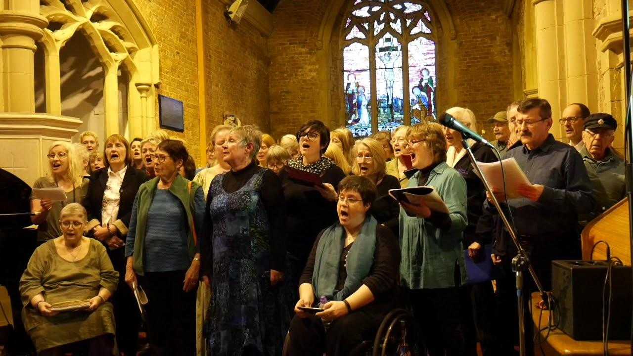 One Voice Choir with Strawberry Thieves